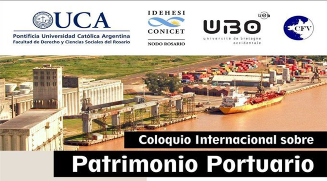 Ponencias expuestas en el III Coloquio de Patrimonio Portuario